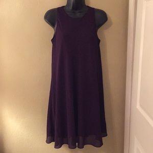 Lauren Ralph Lauren Purple Dress
